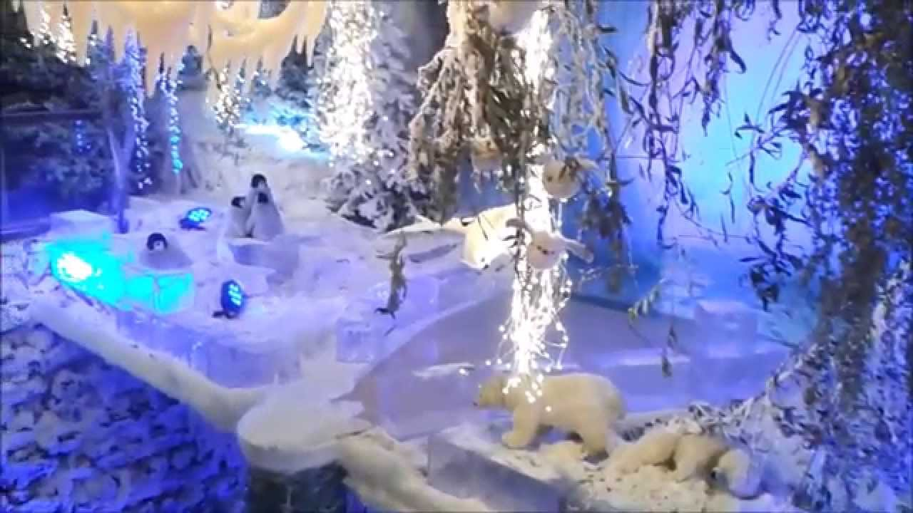 Christmas Show Escalator   Intratuin Duiven 2015 (Roltrap   Kerstshow 2015)   YouTube