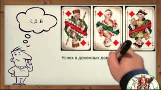 Король, Дама, Валет. Гадание на игральных картах.