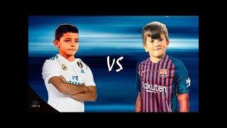 Thiago Messi vs Cristiano Ronaldo Jr 2018 ● Tương lai bóng đá thế giới !!