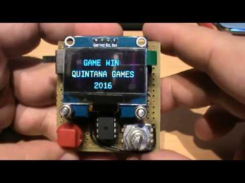 Arduino Game Oled Display - Space Invaders