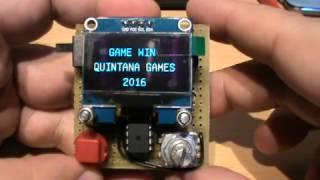 Arduino Game Oled Display - Space Invaders