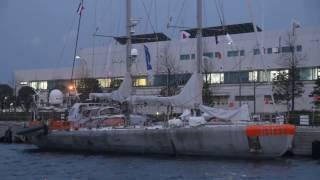 Polar schooner Tara in Yokohama!