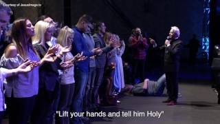 Roy Fields Gets Rocked at Benny Hinn Meeting