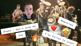🔥❤️🔥Queen - Don't Stop Me Now (Official Video) *Reaction* (I'VE FALLEN IN LOVE WITH QUEEN!)🔥❤️🔥