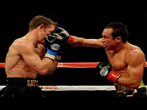 Juan Manuel Marquez Vs Michael Katsidis - Highlights (Great FIGHT & KNOCKOUT)