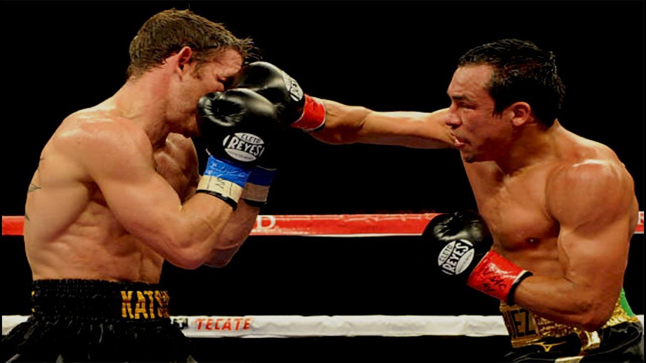 Juan Manuel Marquez vs Michael Katsidis - Highlights (Great FIGHT & KNOCKOUT)
