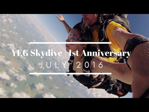 Edmonton Skydive | Anniversary Adventure