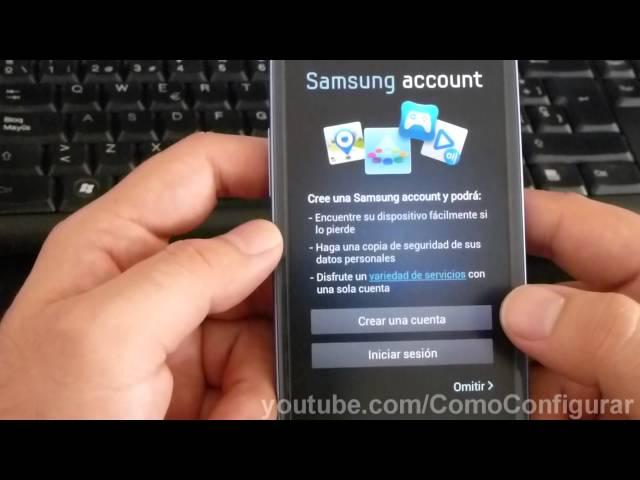 Configuracion Inicial Samsung Galaxy S3