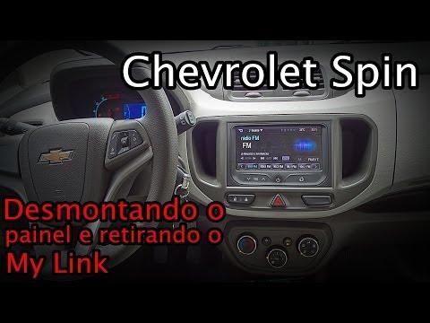 My Link Chevrolet Spin - DESMONTAGEM DO PAINEL