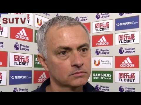 """WE DON'T HAVE ABCDEFG, BUT WE HAVE LMNSOP"" Jose Mourinho's Interview - MU 3-1 Middlesbrough"