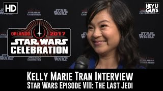Kelly Marie Tran Interview - Epsiode VII: The Last Jedi - Star Wars Celebration 2017