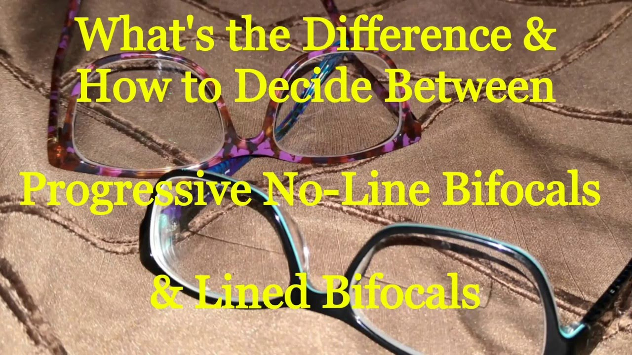 e61377a2f6 Bifocals or Progressives how to choose  - YouTube
