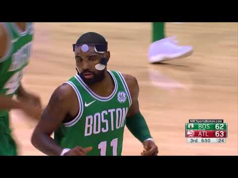 Celtics' Kyrie Irving Drops 30 points vs. Hawks for Boston's 15th Straight Win