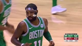 Video Celtics' Kyrie Irving Drops 30 points vs. Hawks for Boston's 15th Straight Win download MP3, 3GP, MP4, WEBM, AVI, FLV November 2017