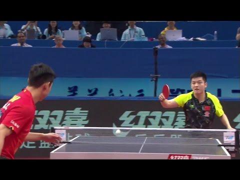 2017 Asian Championships (MS-SF2) ZHANG Jike Vs FAN Zhendong [Full Match/HD]