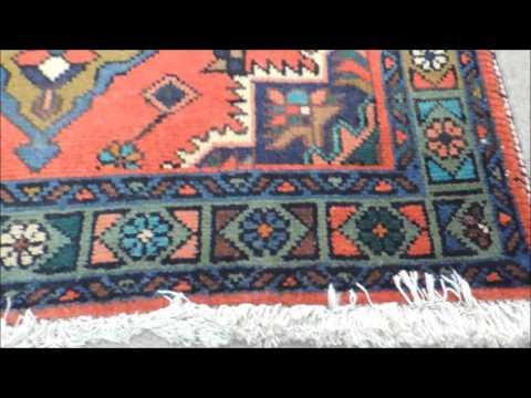 """Persin Rug - Tabriz - Wool / Cotton - 3' 4"""" X 5' 3""""  - #1868"""
