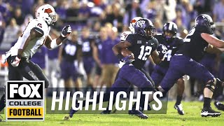TCU vs Oklahoma State | FOX COLLEGE FOOTBALL HIGHLIGHTS