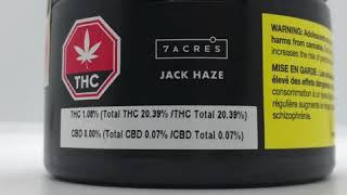 Marlee's Den Unboxing 7ACRES Jack Haze Craft Cannabis