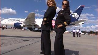 Mujeres piloto. Vuelan las aeronaves más pesadas