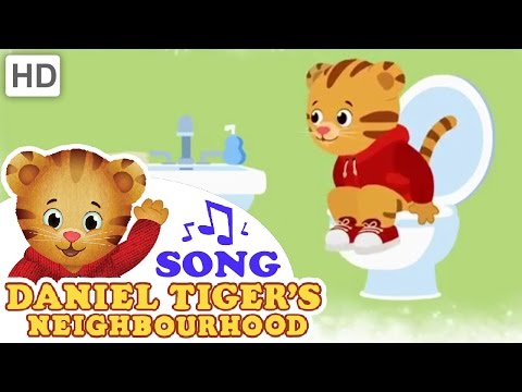 "Daniel Tiger - ""When You Have to Go Potty, Stop and Go Right Away"" SONG"