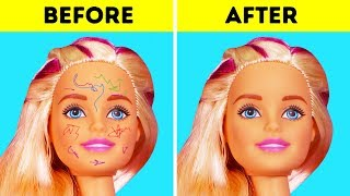30 AWESOME HACKS FOR YOUR BARBIE DOLLS
