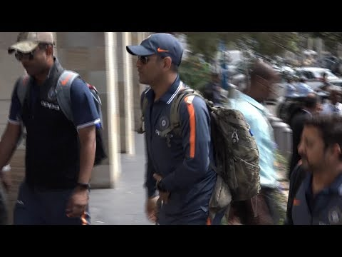Watch: Indian & South African cricketers arrive in Durban