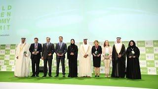 انطلاق أعمال القمة العالمية للاقتصاد الأخضر بدبي