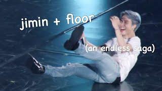 just jimin falling \u0026 tripping for 3 minutes