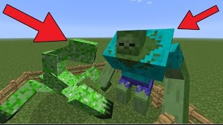 MINECRAFT MOBS 10X GROTER!