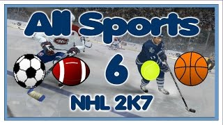 NHL 2K7 (Xbox 360) PART 6: Sweden One - All Sports