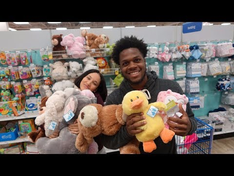 SHOPPING FOR THE BABYS ROOM
