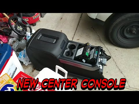 2014 2018 Silverado Jump Seat To Center Console Youtube
