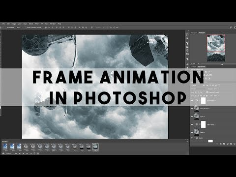 How To Create Frame Animation (GIF or VIDEO) In Photoshop