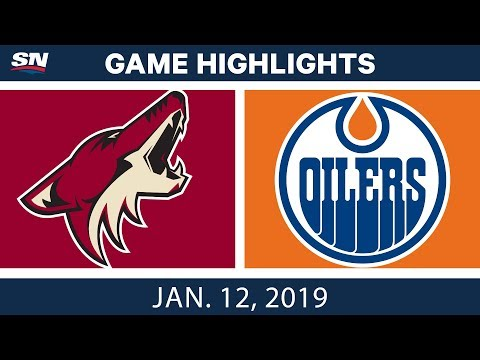 NHL Highlights | Coyotes vs. Oilers - Jan. 12, 2019