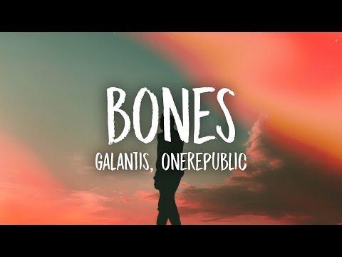 Galantis - Bones (Lyrics) feat. OneRepublic