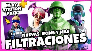 PLAYSTATION PACK AND MORE FILTRATIONS OF THIS WEEK 🤤 FORTNITE battle royale