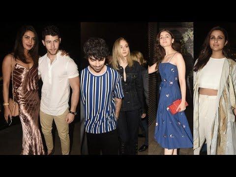 Priyanka Chopra, Nick Jonas, Sophie Turner And Joe Jonas Step Out For Dinner In Mumbai Mp3
