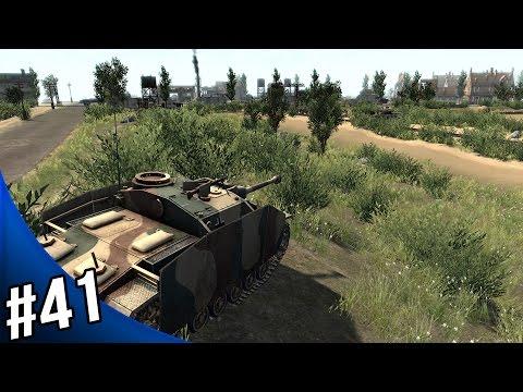 Men of War Assault Squad 2 - German Campaign Walkthrough - Caen Outskirts 1/3 |