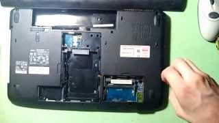 видео Ремонт ноутбука Acer Aspire 8530G
