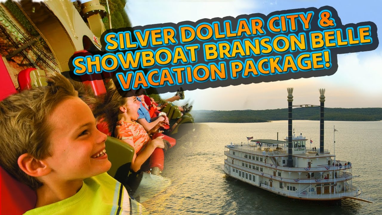 Silver Dollary City Showboat Branson Belle Missouri Vacation Pacakge