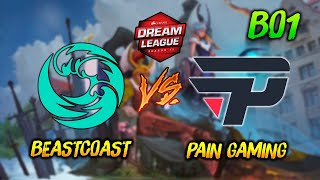 Beastcoast vs Pain Gaming ► DreamLeague Season 13 ( Día 3 ) 😍 | Dota 2