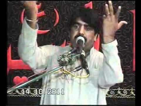 ZAKIR GHAZANFAR ABBAS GONDAL  MAJLIS 14 OCT 2011 AT MULTAN