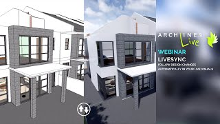 ARCHLine.XP LiveSync – Follow Design Changes Automatically in Your LIVE Visuals