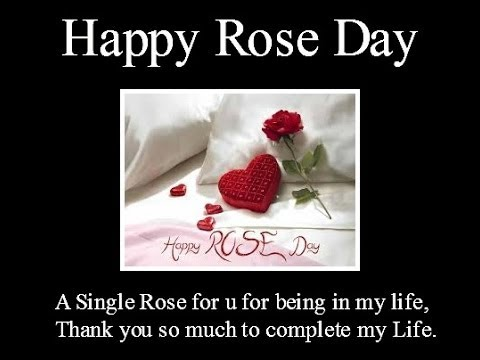 Happy Rose Day 2019 2020 Classic Video Valentines
