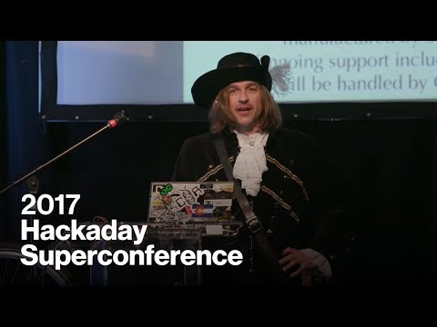 Hackaday Superconference 2017 - Michael Ossmann & Dominic Sp