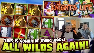 MEGA WIN - Knights Life BIG WIN - HUGE WIN from our LIVE Stream