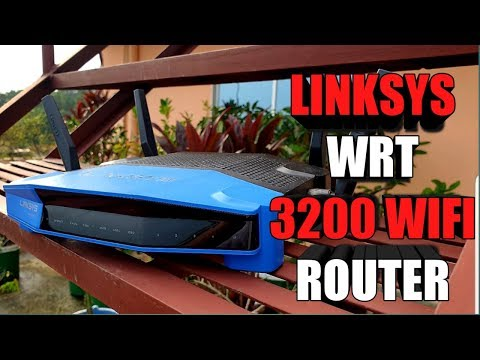 Linksys Unboxing: WRT 3200 ACM - WiFi Router