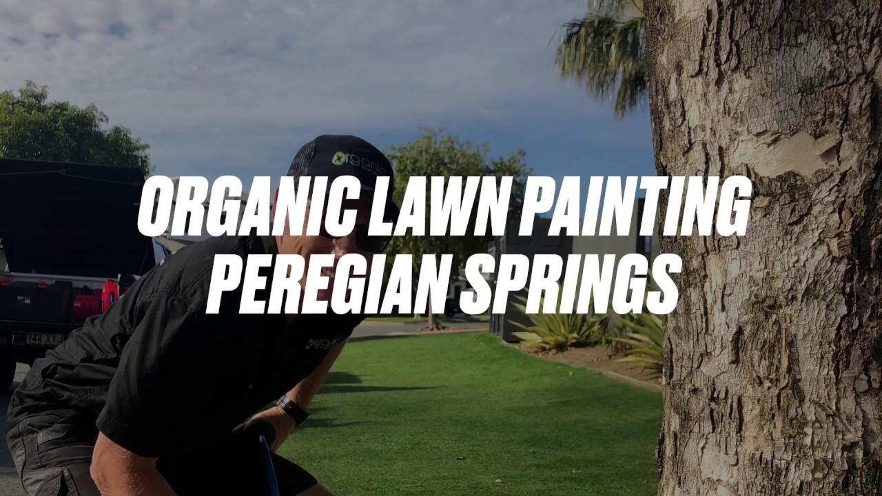 Organic Lawn Painting