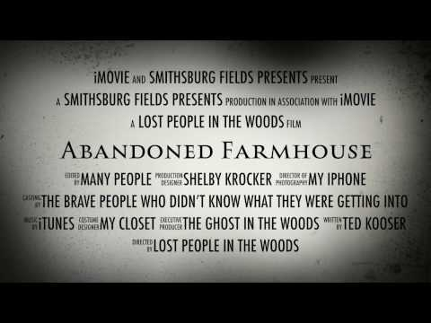Abandoned Farmhouse Poetry Project