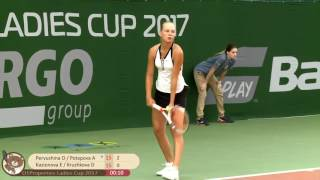 Pervushina/Potapova vs Kazionova/Kruzhkova | FINAL | Khimki $25k | O1 Properties Ladies Cup 2017